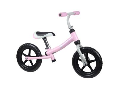 """Kinderline II - Löpcykel - Med 12 """"EVA-skumdäck - Rosa"""