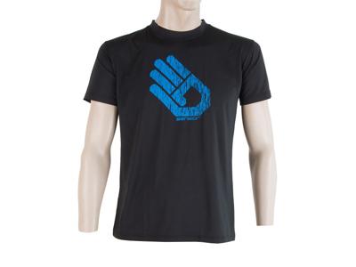 Sensor Coolmax Fresh PT Hand - T-shirt med korte ærmer - Sort