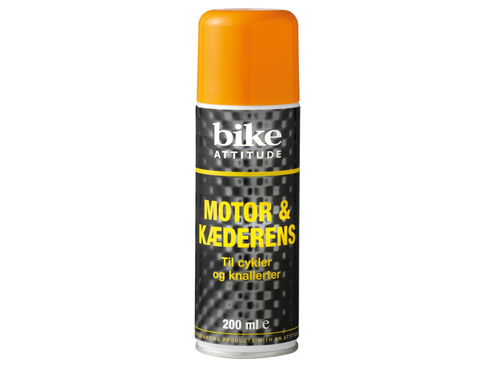 Bike Attitude - Motor & Kæderens spray - 200 ml