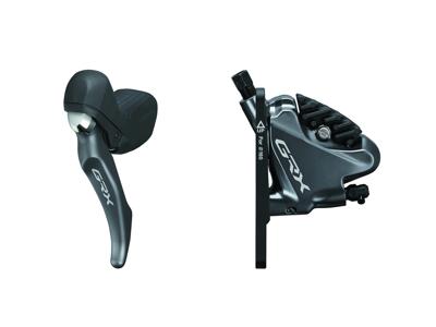 Shimano GRX - STI-greb, bremsekaliber og olieslange - Dobbelt - Hydraulisk - RX810/RX810