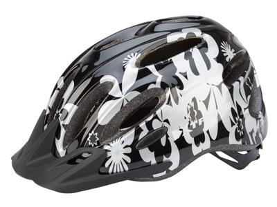Xtreme - X-City - Cykelhjälm - Str. 55-60 cm - Svart/Silver