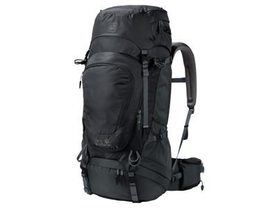 Jack Wolfskin Highland Trail XT 50 - Ryggsäck 50 liter - Svart