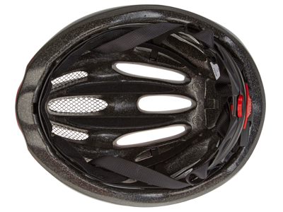Bell Draft cykelhjälm - Str. 54-61 cm - Röd/svart
