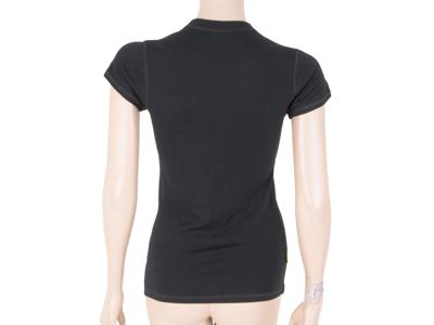 Sensor Merino DF Tee SS - Uld T-shirt - Dame - Sort