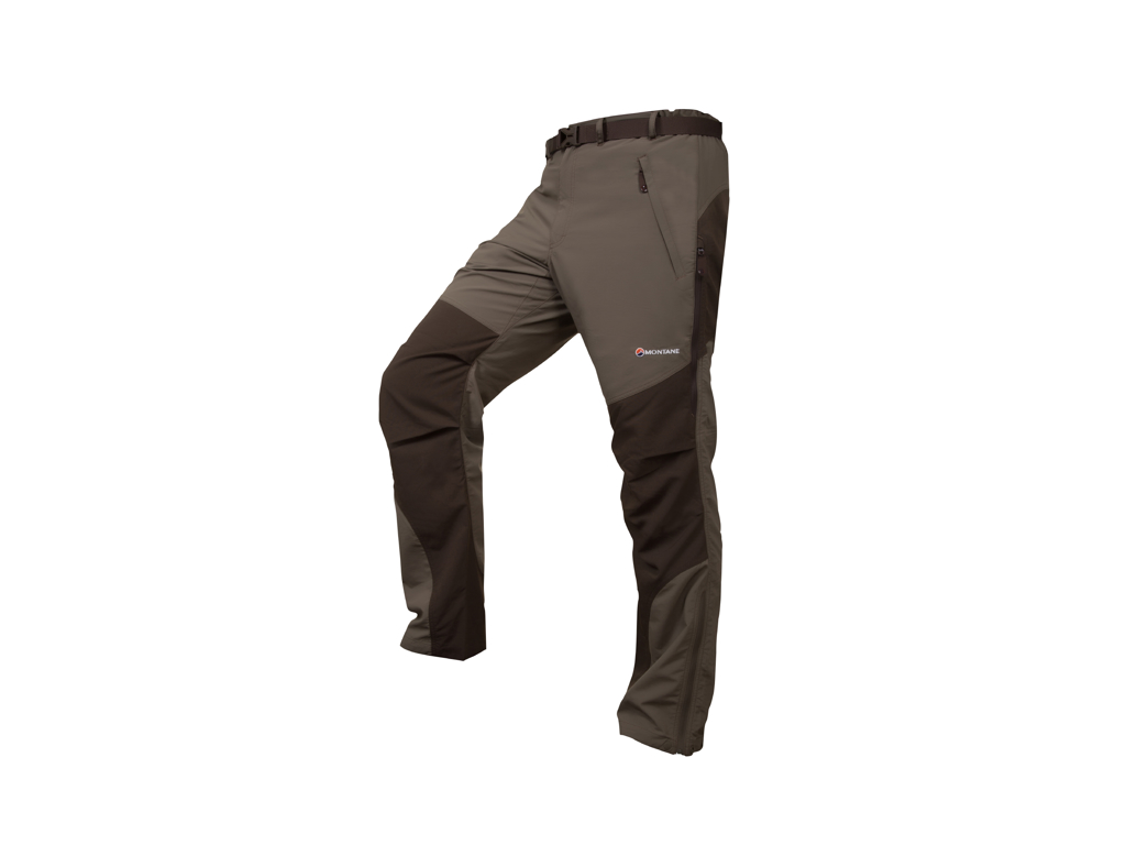 Image of   Montane Terra Pants Reg - Vandrerbukser Mand - Army - Small