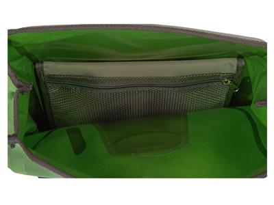 Ortlieb - Vario - Grøn 20 liter - Cykeltaske og rygsæk i én