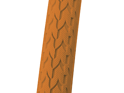 Foldedæk 700 x 24c Duro Fixie orange