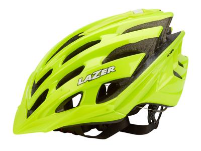 Lazer Nirvana Solid Flash - Cykelhjelm - Neongul