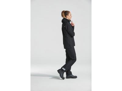 Didriksons Tuba Womens Jacket - Regnjakke Dame - Sort