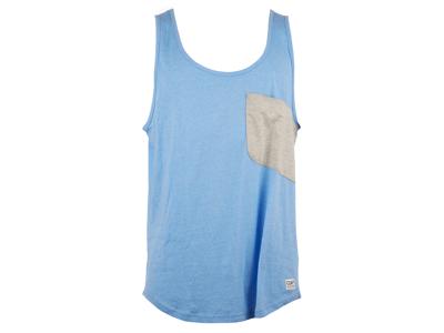 Colour Wear Cut - Tank top - Blå