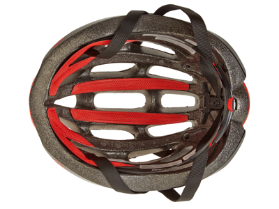 Giro Foray - Cykelhjälm - Röd / vit / svart