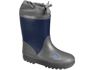 Didriksons Slush Kids W Boots - Gummistøvler med foer - Navy Blå