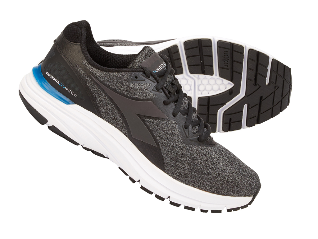 Image of   Diadora - Mythos Blushield HIP 4 - Hr. - Str. 42,5 - Steel grey/Sort