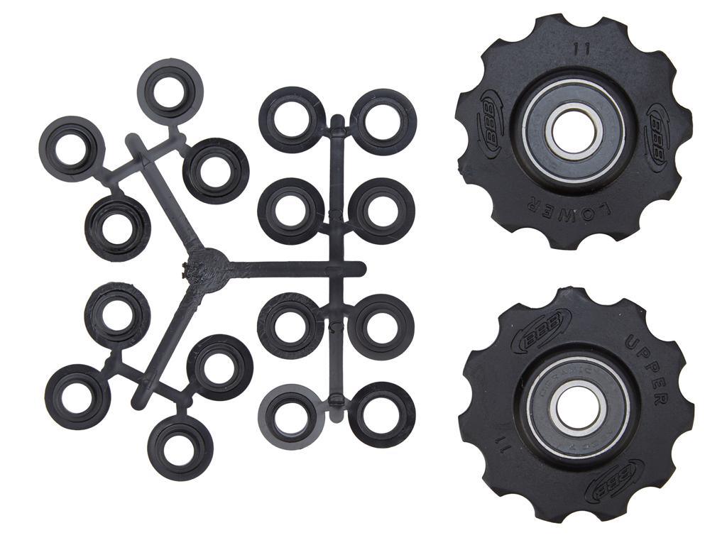 Image of   BBB pulleyhjul 11 tands med keramiske lejer - Rollerboys 2 stk