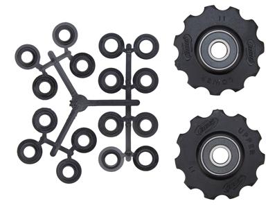 BBB pulleyhjul 11 tands med keramiske lejer - Rollerboys 2 stk