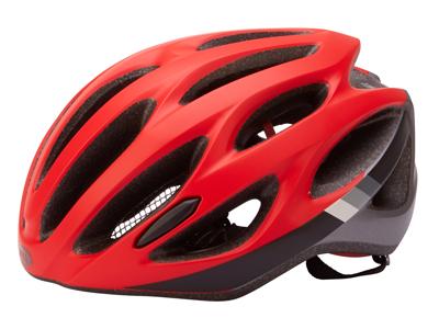 Bell Draft - Cykelhjelm - Str. 54-61 cm - Mat Rød/Sort