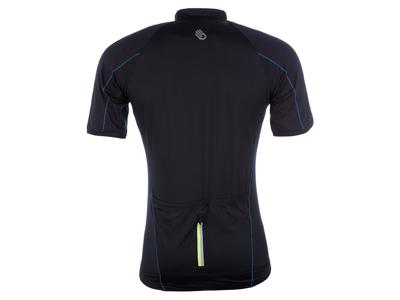 Sensor Entry - Cykeltrøje med korte ærmer til herrer - Sort