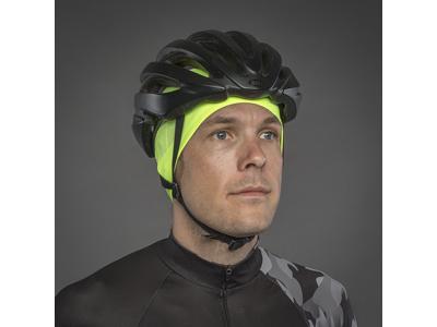 GripGrab Windproof Hi-Vis Skull Cap - Hjelmhue 5037 - Neon gul