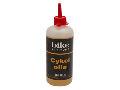 Olje Bike Attitude All Round 250 ml i praktisk dryppflaske