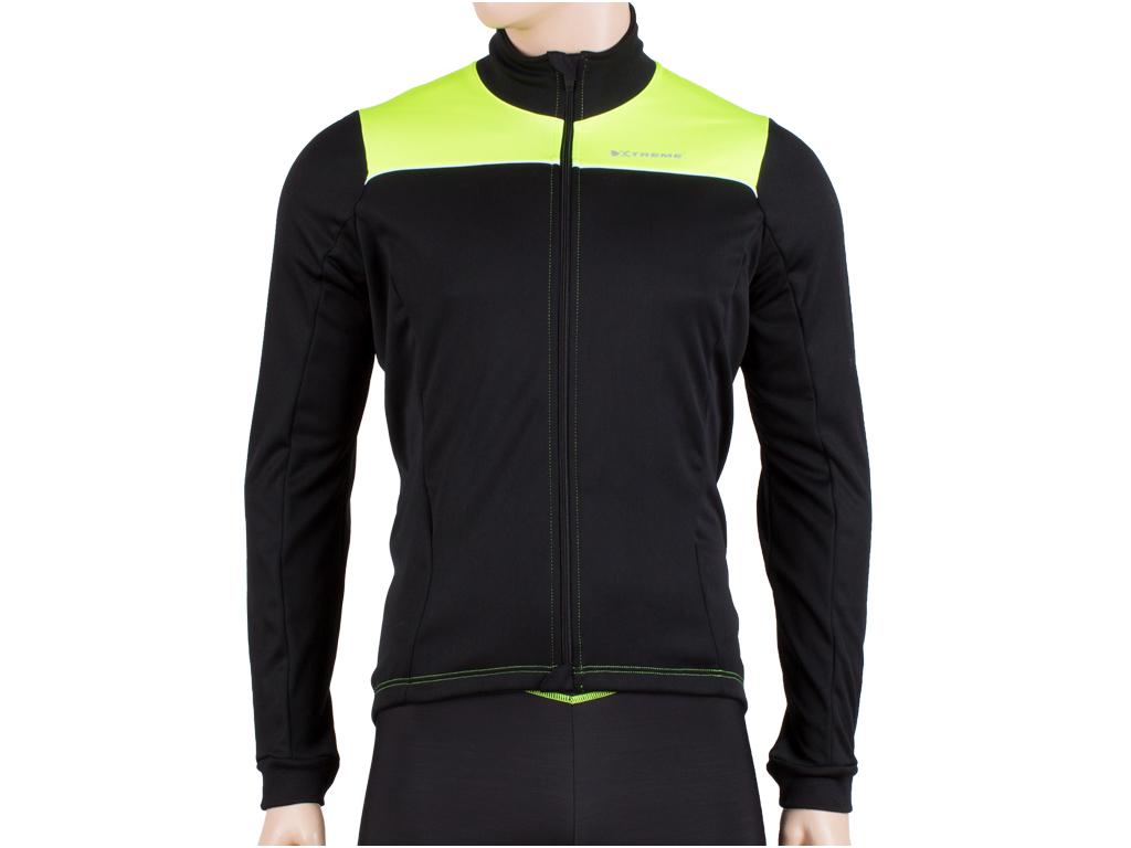 Xtreme X-Tourmalet - Vinter cykeljakke - Sort/gul