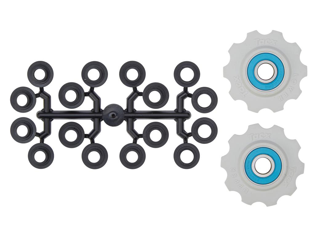 Image of   Tacx pulleyhjul med 10 tænder - Med keramiske lejer