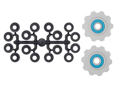 Tacx pulleyhjul med 10 tænder - Med keramiske lejer