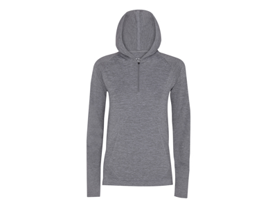 Diadora - L. Seamless LS t-shirt - Löpartröja - Dam - Grå melange