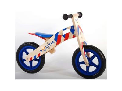 "E & L Cycles - Yipeeh - Springcykel - 12"" Polis Blå/Röd"