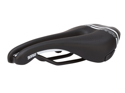 Selle Italia Novus Boost TM Superflow S - Cykelsadel - Sort