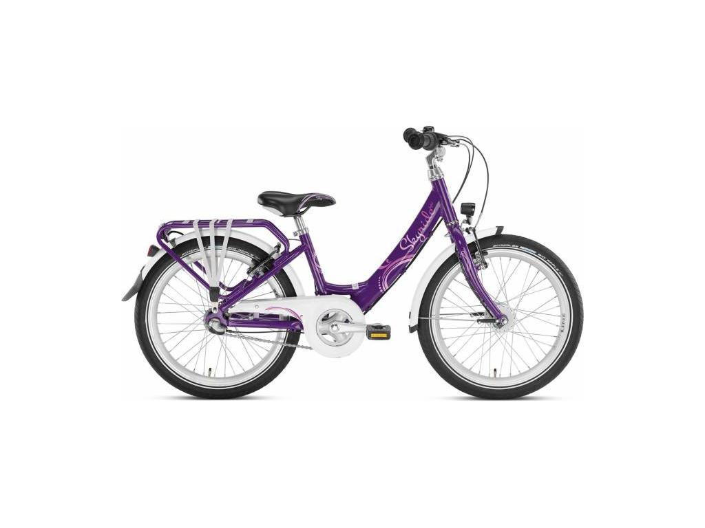 """Puky - Pigecykel - Skyride 20-3 Alu light - 20"""" med 3 gear - Lilla"""