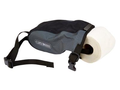 Toiletpapirsholder Ortlieb T-Pack sort/grå