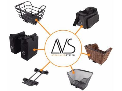 Atran Velo Newrack - AVS adapter til bagagebærer - Opgradér dit bagagebærer med AVS