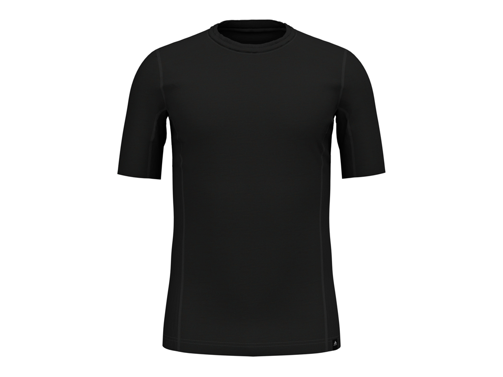 Image of   Odlo - Natural + Ceramiwool light Suw Top - Løbe t-shirt - Herre - Sort