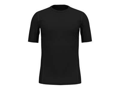 Odlo - Natural + Ceramiwool light Suw Top - Løbe t-shirt - Herre - Sort