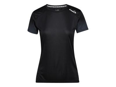 Diadora L. X-Run SS T-shirt - Running T-shirt - Damer - Svart