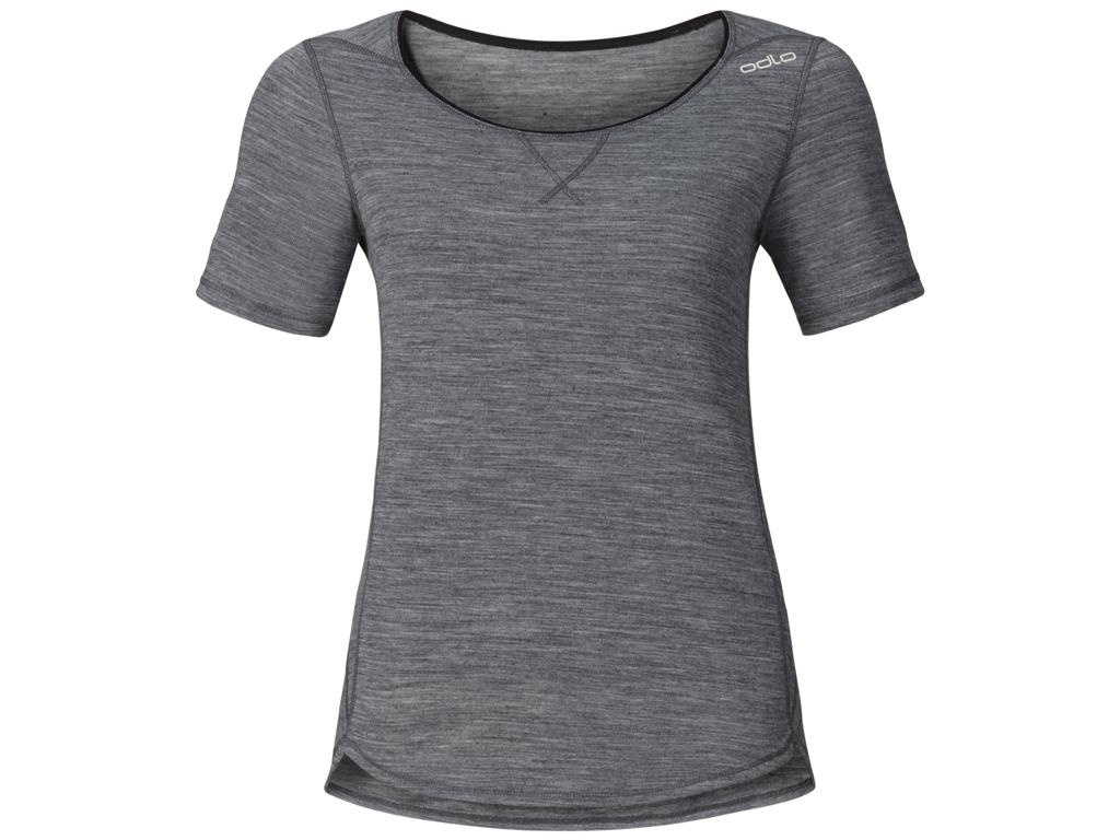 Image of   Odlo dame shirt - REVOLUTION TW LIGHT - Grey melange - Str. S
