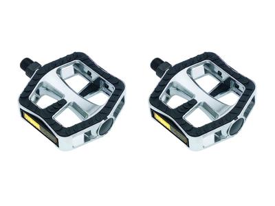 Pedaler Wellgo Comfort XL sølv