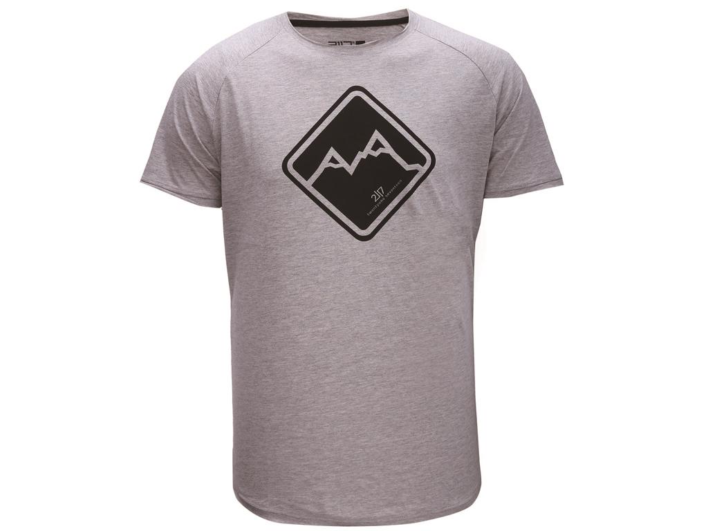 Image of   2117 Of Sweden Apelviken - T-shirt - Herre - Grå - Str. 3XL
