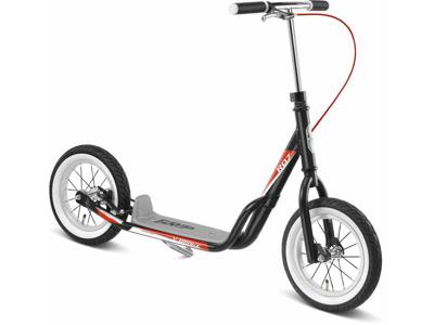 Puky R 07 L - Løbehjul til børn fra 110 cm - Sort