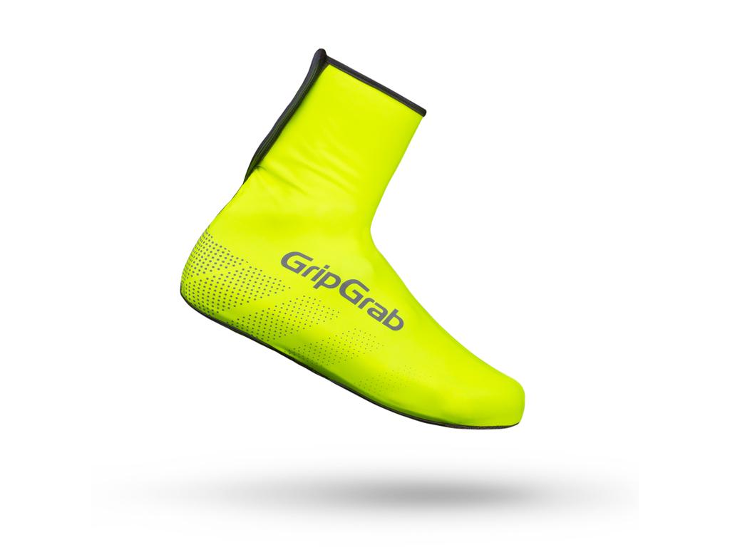 Image of   GripGrab Ride Waterproof Hi-Vis 2029 - Vandtæt skoovertræk - Neon Gul - Str. L