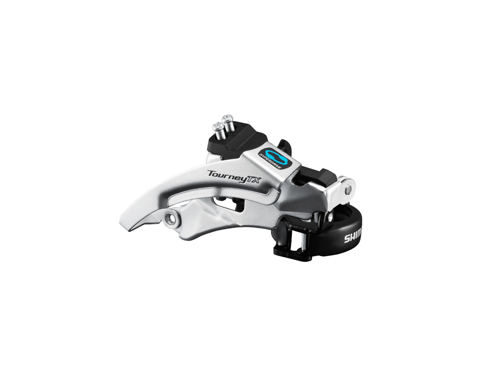 Image of   Shimano Tourney - Forskifter FD-TX800 - 3x7/8 gear Trekking Low clamp med bånd 28,6-34,9mm
