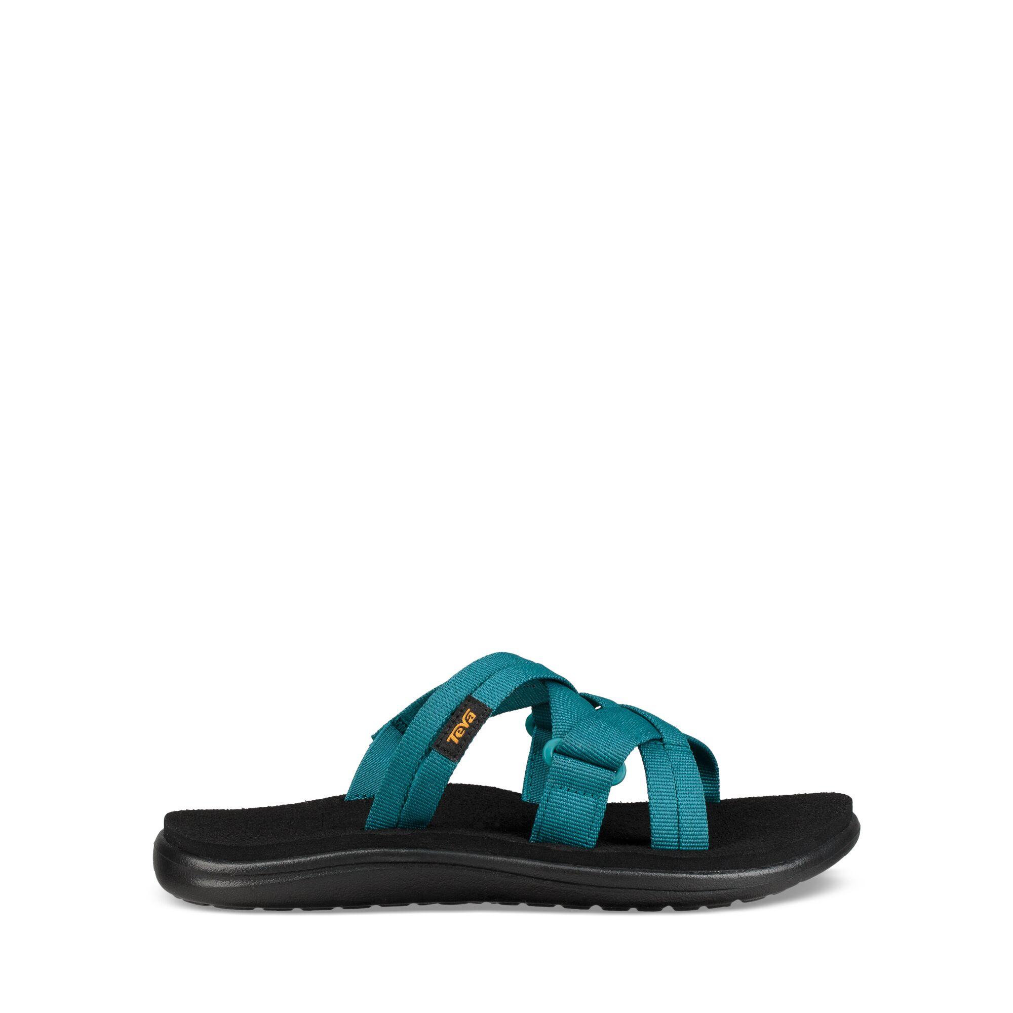 Teva W Voya Slide - Sandal til dame - Blå | Running shoes