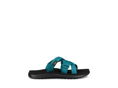Teva W Voya Slide - Sandal til dame - Blå