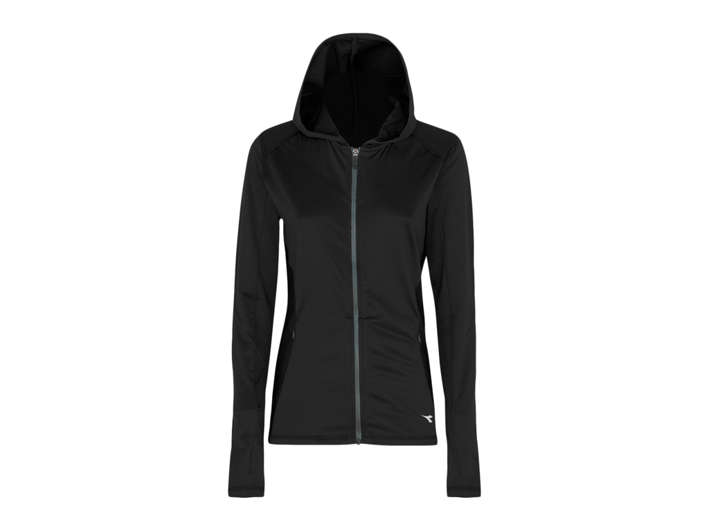 Image of   Diadora - L. Jacket Active - Sweatshirt - Dame Sort
