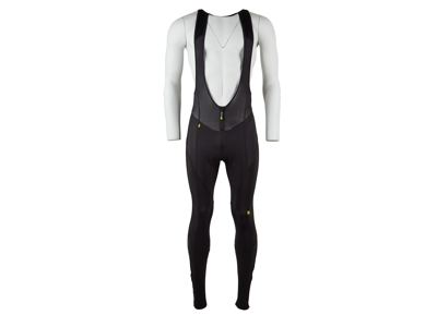 Mavic Club - Vinter bib tight - med pude - Sort