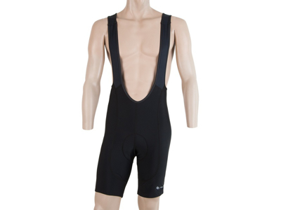 Sensor Cyklo Entry - Bib shorts med pude - Sort