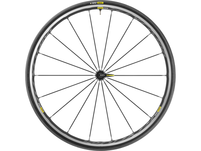 Mavic Ksyrium Elite UST - Tubeless forhjul med dæk - 700 x 25c
