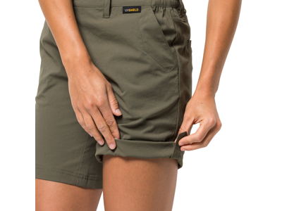 Jack Wolfskin Desert Shorts - Dame - Grøn