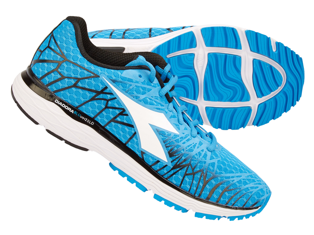 Image of   Diadora - Mythos Blushield Fly 2 - Hr - Str. 41 - Blå/Hvid