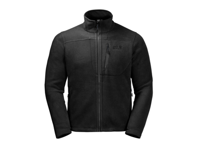 Jack Wolfskin Vertigo Men - Fleecejakke herre - Sort